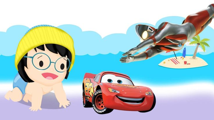 BoBoiBoy Bad Baby Crying Learn Colors Colorful Disney Cars Ultraman Fing...