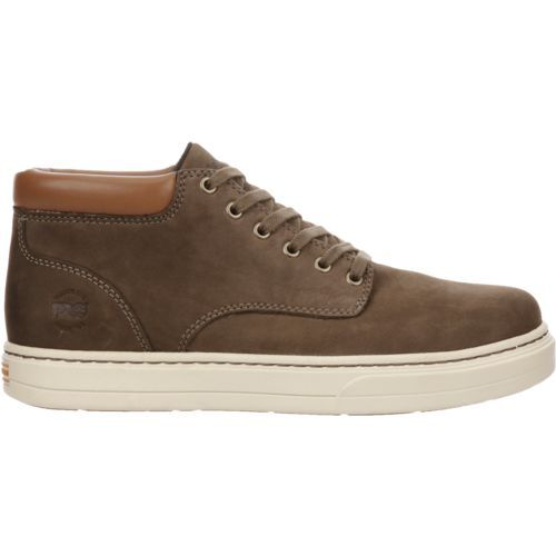 Timberland Men's Pro Disruptor Chukka Athletic Work Shoes (Beige Or Khaki, Size 9.5) - Lace St Work Boots Shoes at Academy Sports