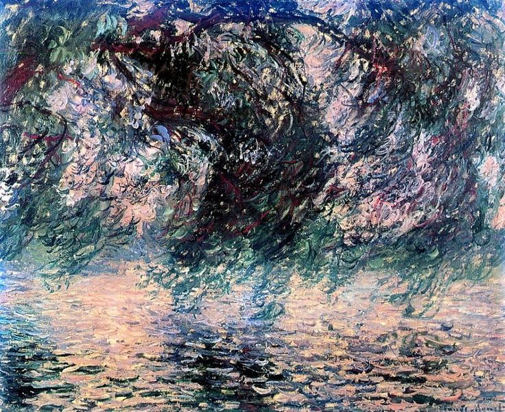 Claude Monet「Salice piangente」(1897)