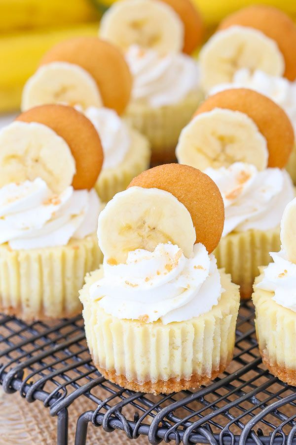 This post is sponsored by Challenge Dairy, but all opinions are my own. These Mini Banana Pudding Cheesecakes are made with vanilla wafer crusts, a banana cheesecake filling, topped with whipped cream! They are sweet little bites of banana pudding heaven! I am a lover of all things banana and so is the hubs. It's …