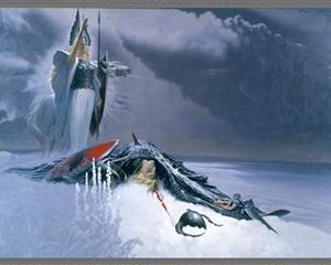 Valkyrie above deadwarrior - Konstantin Vasilyev