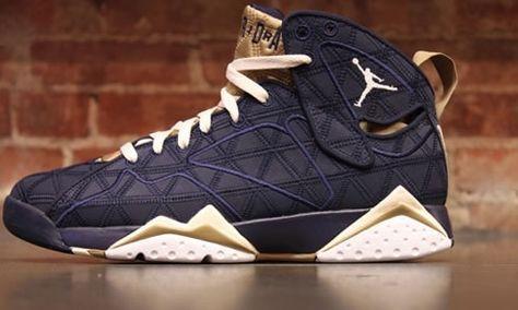 "Jordan 7 Retro ""Obsidian"" (2012). Share more New Jordans 2014 joy with my blog www.23isback.me ."