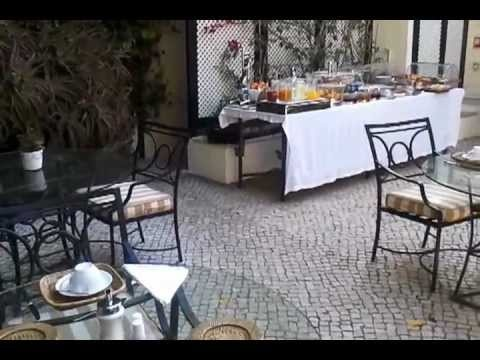 As Janelas Verdes Lisbon  - Breakfast in garden. A lovely boutique hotel: http://www.europealacarte.co.uk/blog/asjanelasverdes