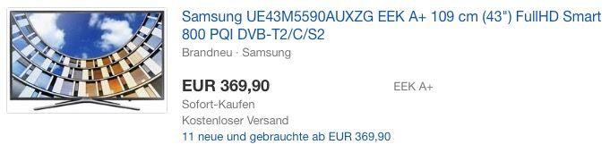 Samsung M5590 108 Cm 43 Zoll Fernseher Samsung Fernseher Zoll