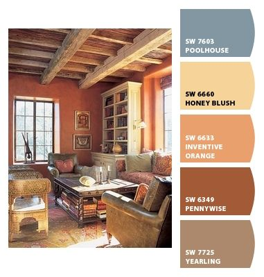 Paint colors from chip it by sherwin williams color my for Interior paint colors for rustic homes