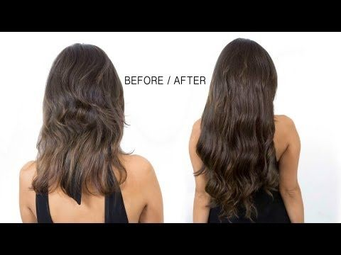 How to Apply Clip in Hair Extensions #IrresistibleMe #HairExtensions #clipin #ex…