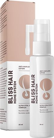 Loțiunea Bliss Hair este un complex inovator, care are grijă de scalpul tău. Această loțiune include doar componente naturale, care luptă cu mătreața și previne reapariția acesteia.