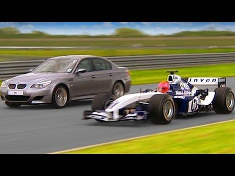 Williams F1 vs BMW M5 #TBT - Fifth Gear - YouTube