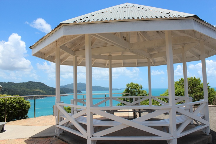 The pavillion at One Tree Hill on Hamilton Island