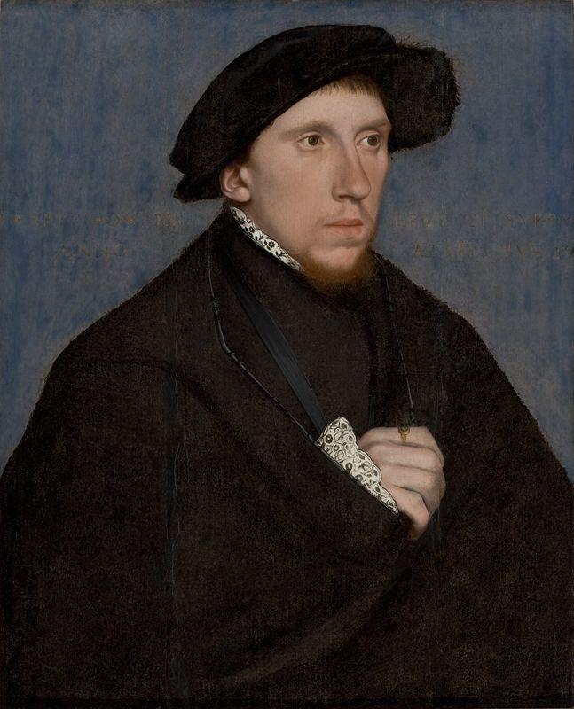 Hans Holbein, o Jovem, O Poeta Henry Howard, Conde de Surrey (ca. 1542, Museu de Arte de São Paulo)