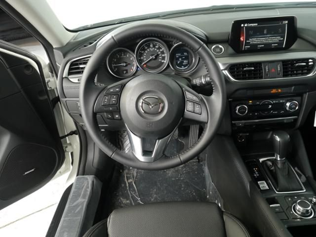 New 2016 Mazda Mazda6 For Sale in Brooklyn Center MN at Luther Brookdale Mazda dealership Minneapolis. Mazda6 for sale Minneapolis. Mazda for sale Minnesota. Twin Cities. St. Paul. Mazda6 interior. New Mazda for sale Minnesota.
