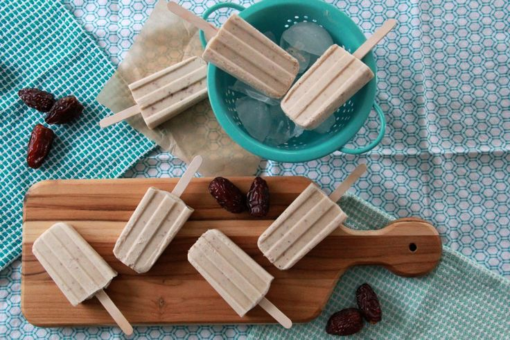 ... Crumble Date Shake Popsicles | everybody loves popsicles | Pint