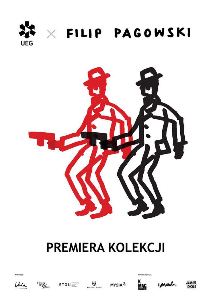 Filip P�gowski x UEG - Premiera kolekcji Via: Tenisufki.eu