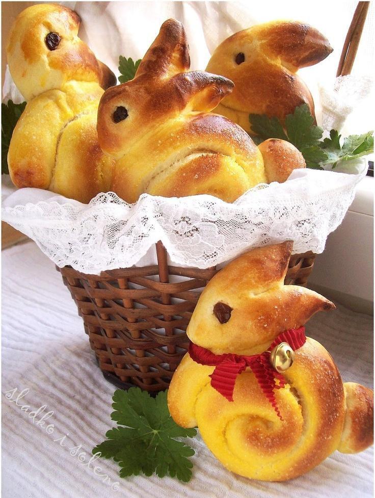 выпечка на пасху рецепты с фото кролики