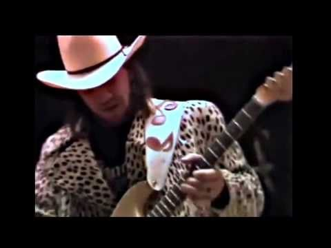 Stevie Ray Vaughan - Sound Check. He just woke up before this- an amazingly gifted life cut too short in 1990.