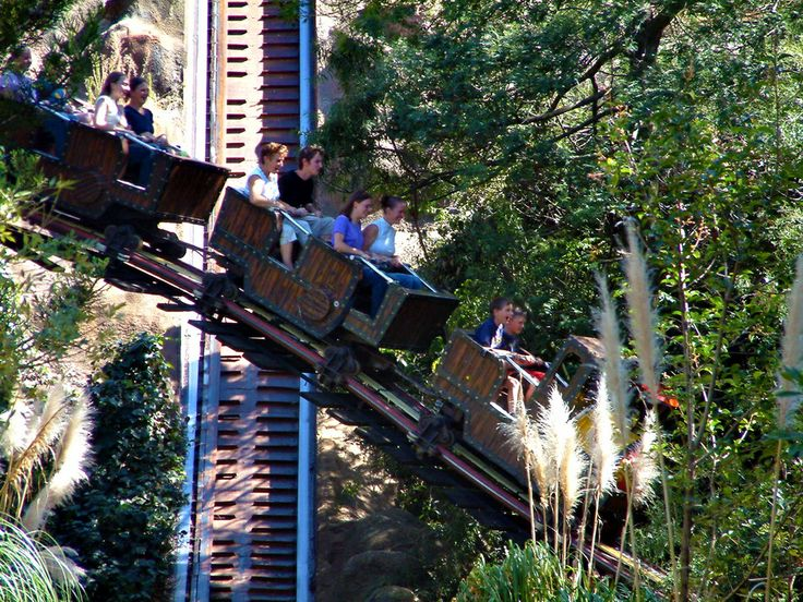 One of the rides at Gold Reef City, Johannesburg, South Africa.