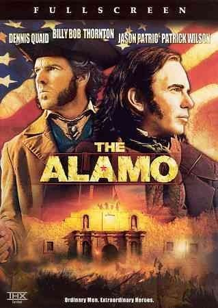 The Alamo [PN1995.9.A44 A43 2004] Based on the 1836 standoff between a group of Texan and Tejano men, led by Davy Crockett and Jim Bowie, and Mexican dictator Santa Anna's forces at the Alamo in San Antonio, Texas. Director:John Lee Hancock Writers:Leslie Bohem, Stephen Gaghan, Stars:Dennis Quaid, Billy Bob Thornton, Jason Patric