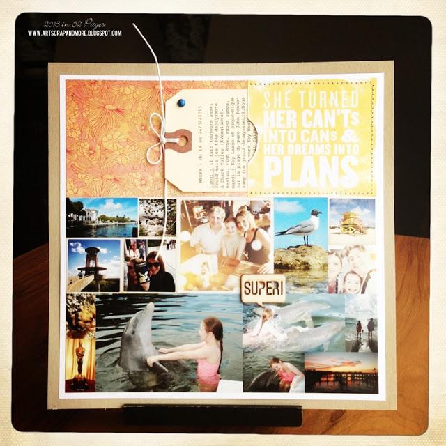 Blog: Page pour album de vacances | Artemio Créateur d'idées