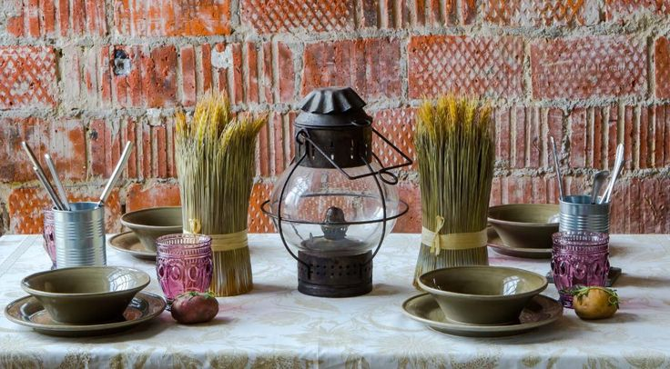Decorațiuni de toamnă din spice de grâu
