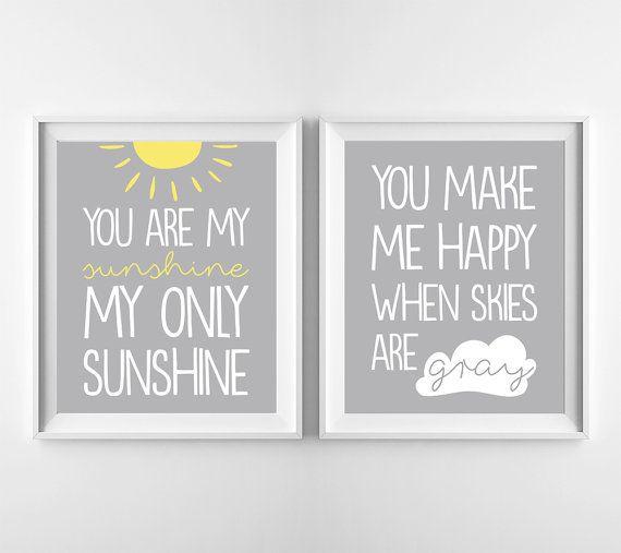 Vous êtes mon rayon de soleil vous me faire plaisir lorsque