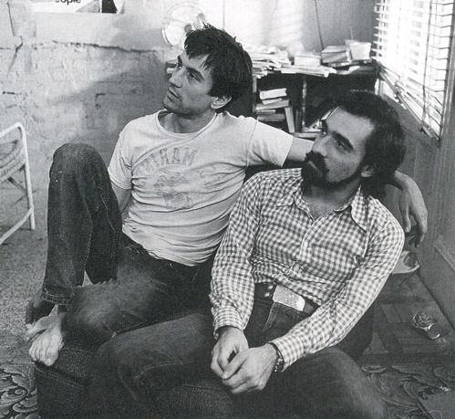 Robert De Niro with Martin Scorsese