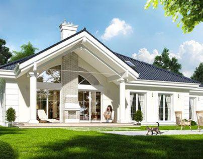 """Check out new work on my @Behance portfolio: """"Projekt domu Willa Parkowa"""" http://on.be.net/1B0jXMN"""