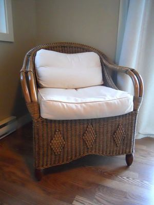 8 best images about restoring wicker furniture on for Recover wicker furniture
