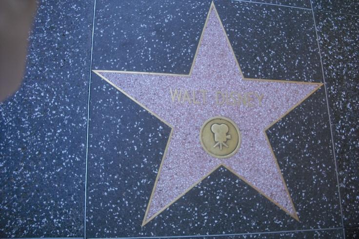 A star for Walt Disney