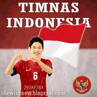 DP BBM Animasi Terbaru Versi Photoshop : TIMNAS INDONESIA 2015