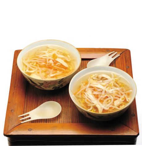 Zuppa di germogli di soia  #cooking #china #thai #food #italy #recipe