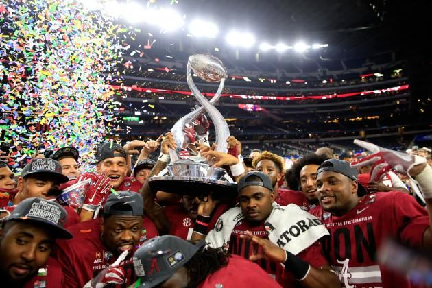 Behold College Football's Biggest, Baddest Bully, the Alabama Crimson Tide