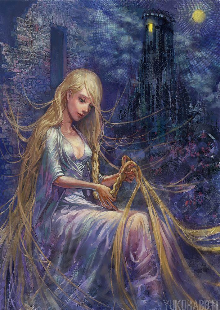 Cress (Rapunzel by ~YukoRabbit on deviantART)   The ...
