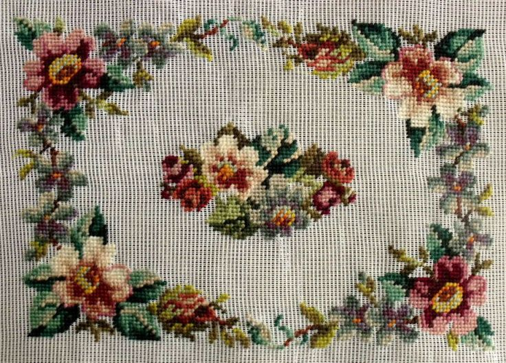 403 Best Needlepoint Rugs Images On Pinterest Embroidery