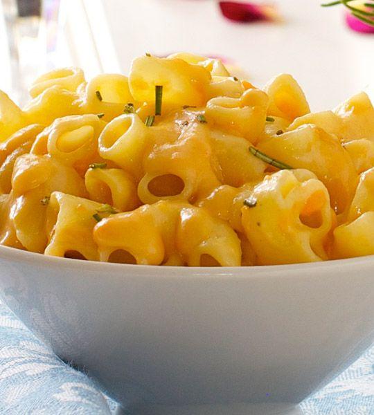 Sweet Potato Man 'n' cheese by Chef Chloe #vegan #dairyfree #glutenfree option