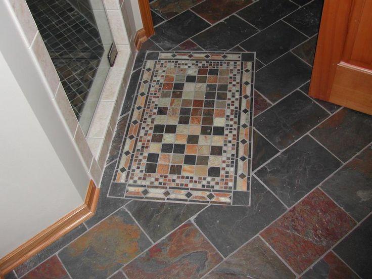 b8128646b87de428f761cf9c035b8377--slate-tiles-kitchen-floors Ideas Bathroom Patterns Design Tile Xlatw on