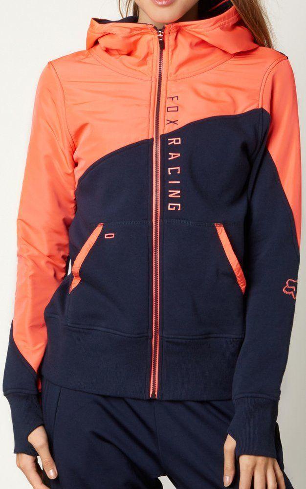 Fox Racing Women's Conserve Zip Up Hoody Sweatshirt
