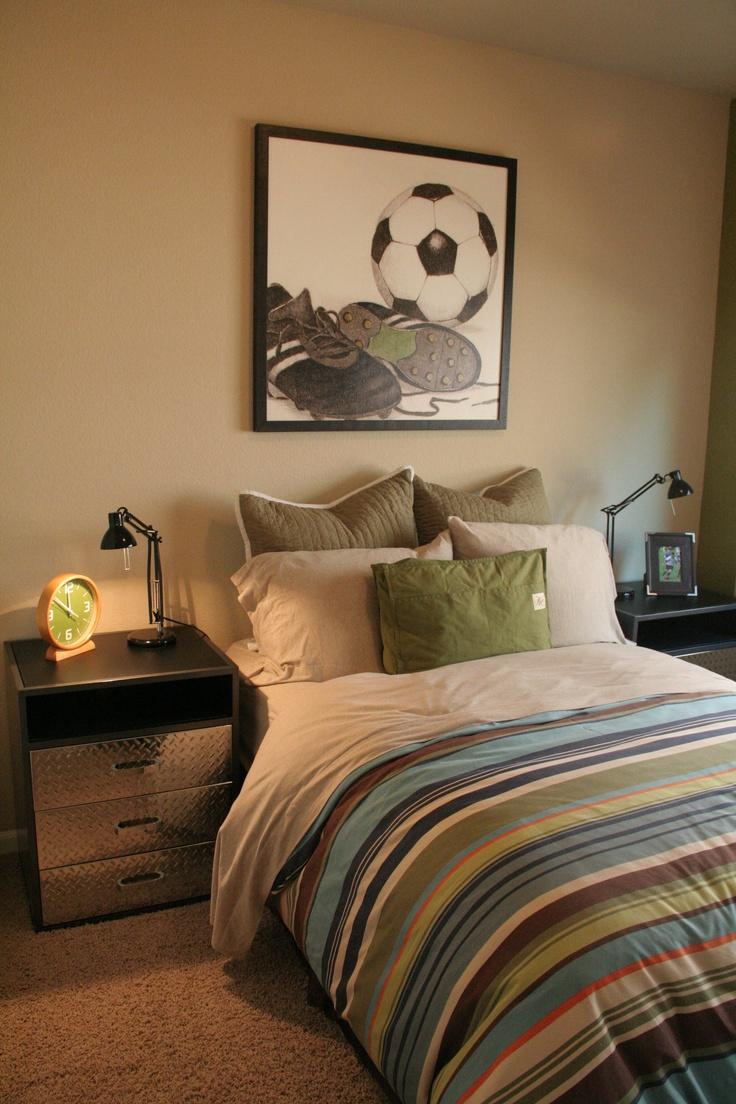 A Soccer Fan S Dream Bedroom
