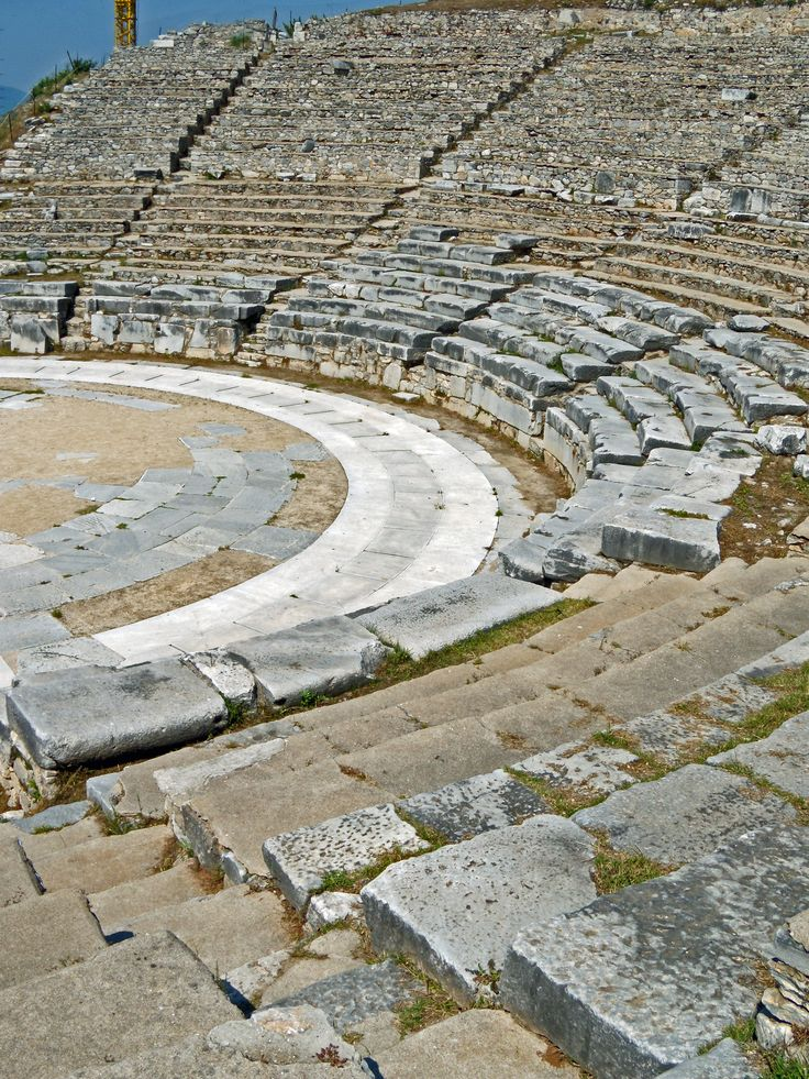 Theater of Philippi, Greece
