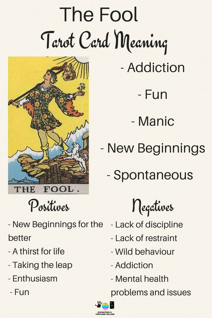 Future Tarot Meanings The Fool With Images Tarot Learning