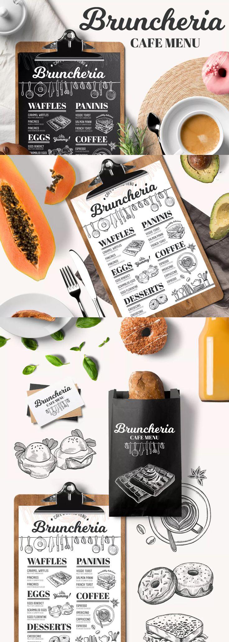 62 best food menu templates images on pinterest menu templates print templates and restaurant. Black Bedroom Furniture Sets. Home Design Ideas