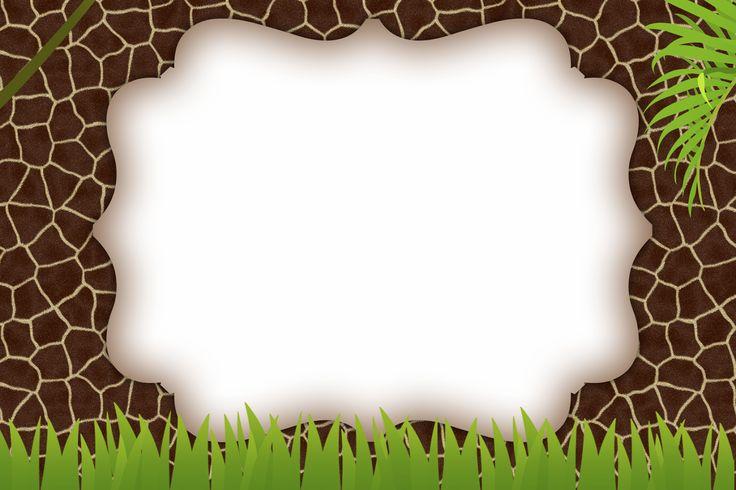 Montando minha festa: Safari meninos sem os personagens