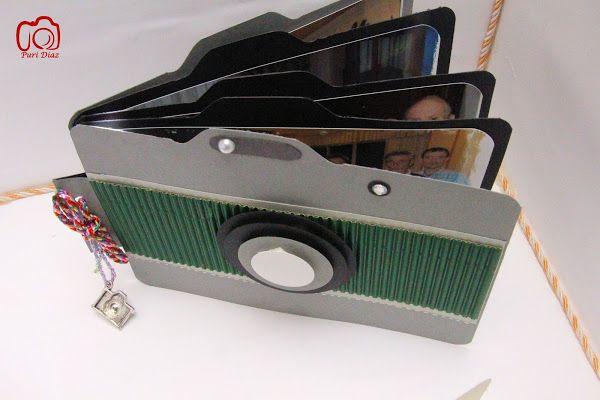 Mini albúm cámara de fotos | Aprender manualidades es facilisimo.com