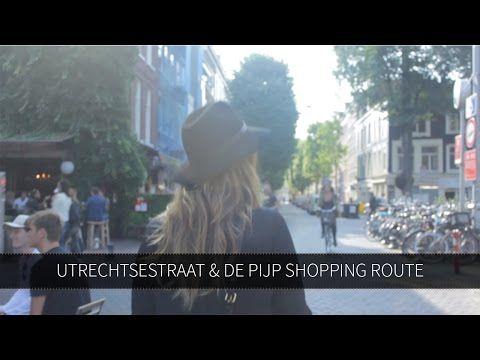 Shopping route in Amsterdam: Utrechtsestraat & De Pijp
