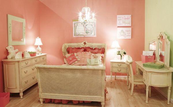 Red Girl Bedroom Decoration - 50 Cool Teenage Girl Bedroom Ideas of Design, http://hative.com/50-teenage-girl-bedroom-ideas-design/,