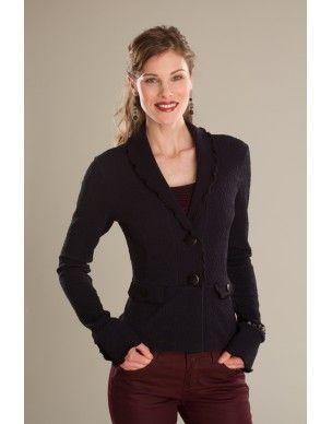 Veste/Jacket Cappuccino - KARKASS fashion designer. Mode québécoise / Made in Quebec