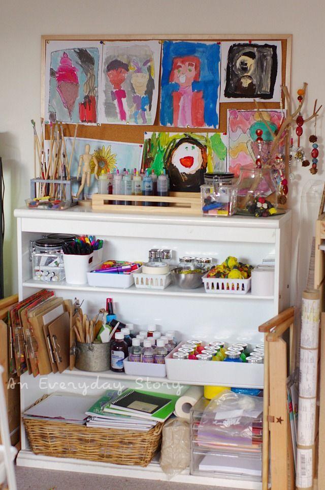 17 best images about atelier ideas on pinterest children. Black Bedroom Furniture Sets. Home Design Ideas