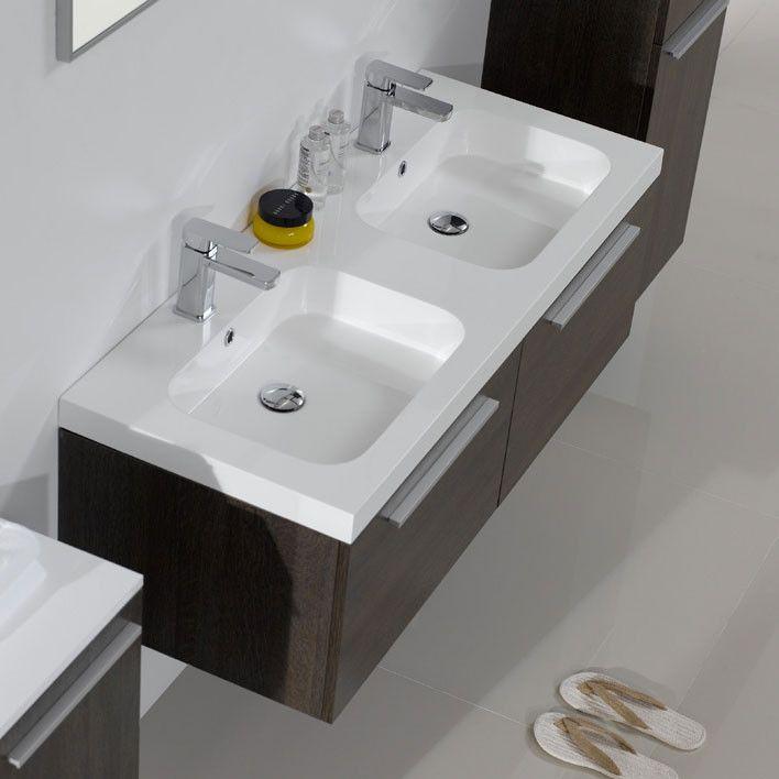Oltre 25 fantastiche idee su doppio lavabo su pinterest - Lavabo doppio bagno ...