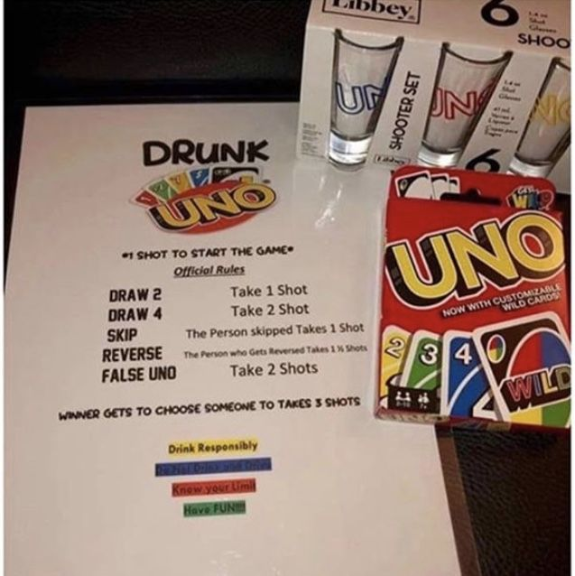 For Ages 21+ Adult Alcohol Drinking Party Game Drop Shot The Game