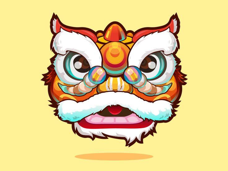 Lion Dance by XiaoLong #Design Popular #Dribbble #shots