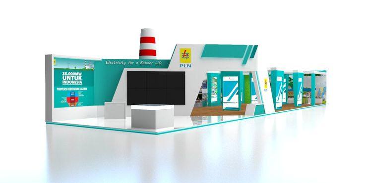 Desain Booth Stand Pameran Indonesia Business and Development Expo (IBDExpo) 2016 – PT PLN (Persero) - Desain & Produksi Booth Stand Pameran | mandiricitra.comDesain & Produksi Booth Stand Pameran | mandiricitra.com